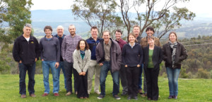 Participants of the invasive birds workshop earlier this year.