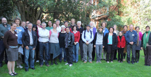Part of the process of developing criteria for the Red List of Ecosystems was the staging of six international workshops hosted by a variety of conservation groups and research networks. One of these was hosted by CEED in May last year (see Decision Point #62 ). This workshop, held at the University of Melbourne, focussed on the application of the draft criteria to marine systems, definitions of collapse (analogous to extinction for species), and ways of assessing change in ecological function as they move towards collapse. Pictured above are the participants of that workshop.