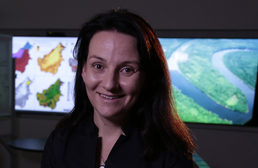 Kerrie Wilson is the 2016 Fenner Prize for Life Scientist of the Year. (Image Science/WildBear)