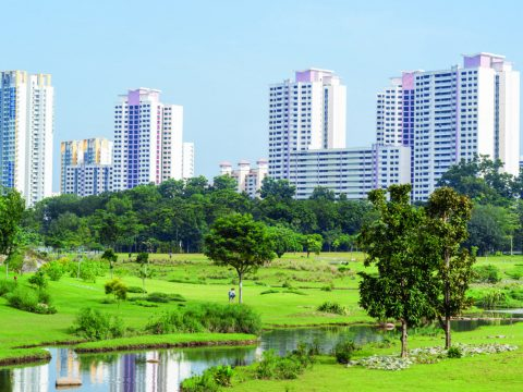 Bishan Park, a great example of innovative urban planning in Singapore. (Photo by National Parks Board, Singapore).