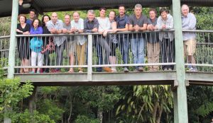 CEED's Chief Investigators at O'Reilly's Rainforest Retreat (Lamington National Park, Qld).