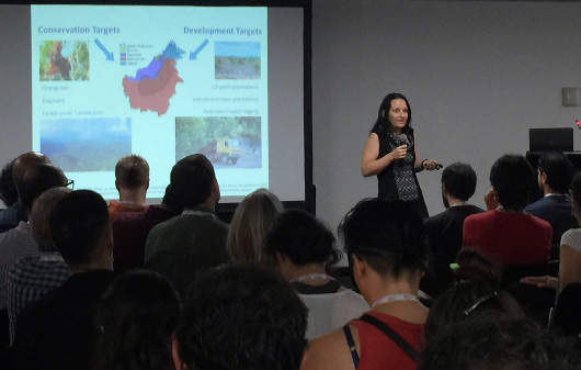 Kerrie Wilson was one of 33 CEED presenters speaking at ICCB 2017. Here she is discussing the trade-offs between conservation and development goals.