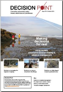 The Decision Point archive has many stories on most of the elements discussed in this special feature. Issue #74 presesents several case studies on how structured decision making has been applied to solve real world conservation challenges